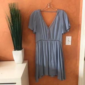 LUCCA | flutter sleeve dress